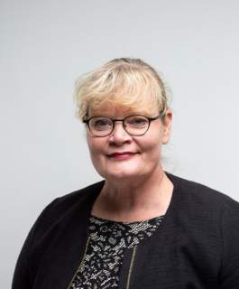 Första vicetalman Katrin Sjögren