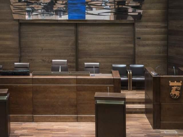Ålands lagtings plenissal